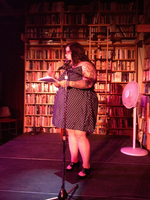 Another photo from the Femmes go Dirty South reading